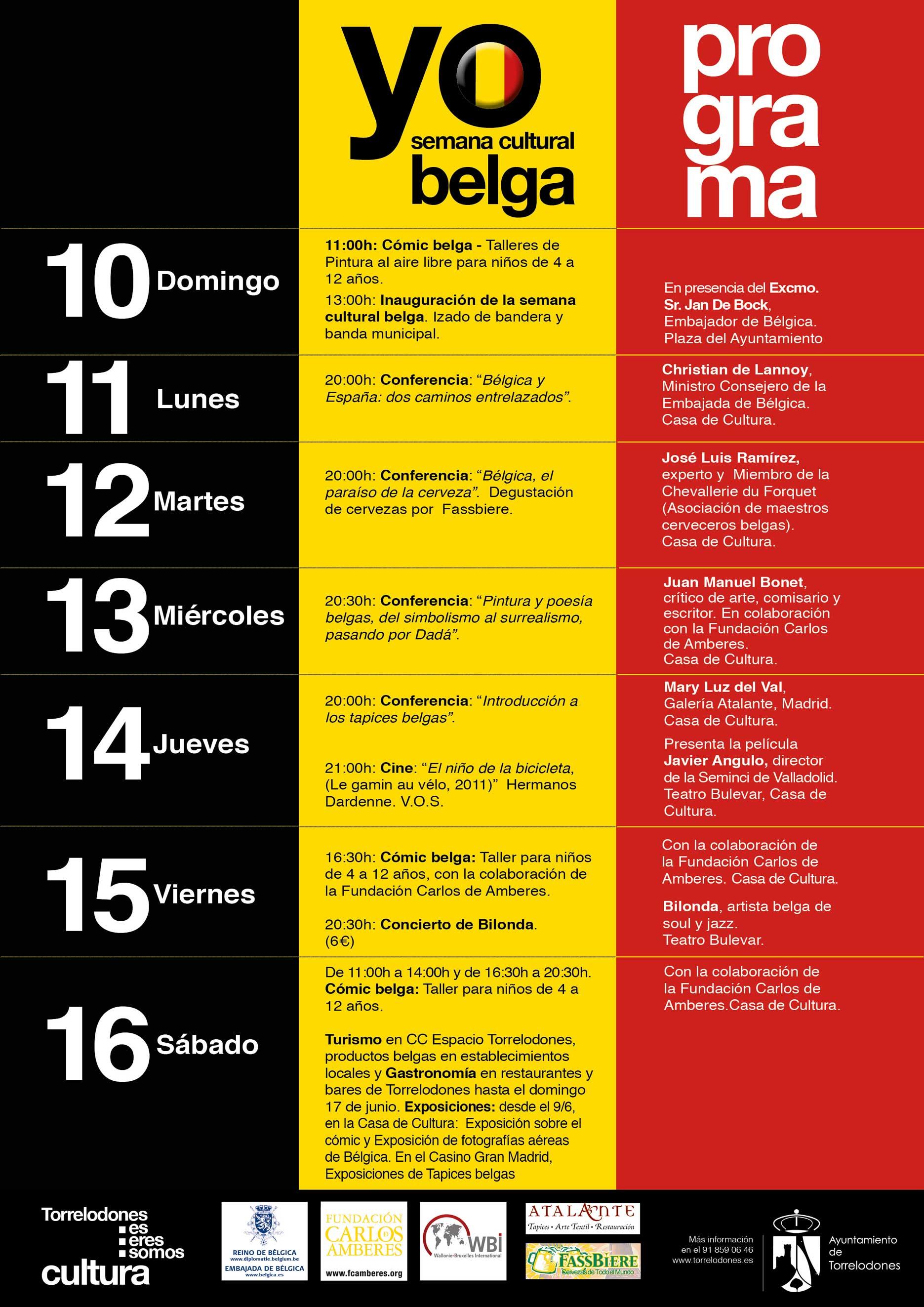 Cartel Semana Belga