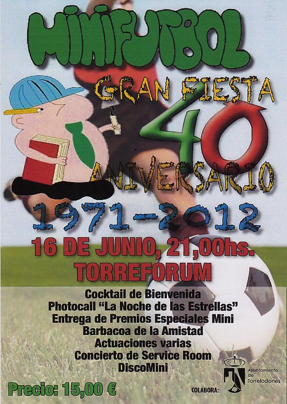 40 aniversario del Mini Fútbol de Torrelodones